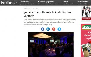 Cnferinta Forbes 2014