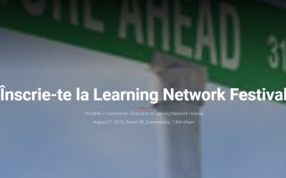 Conferinta Learning Network Festival 2015