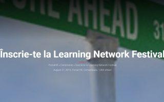 Conferinta Learning Network Festival 2015